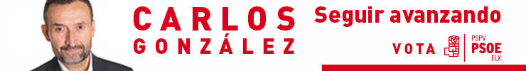 Carlos González - Seguir Avanzando - Vota PSOE 2019
